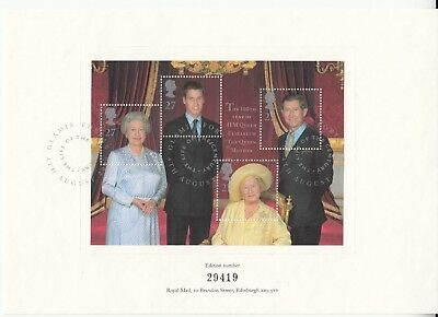 The Life of the Century. HM Queen the Queen Mother Commemorative Document 4th Au