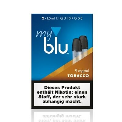 my blu E-Liquidpod Tobacco 9 mg  2 x 1,5 ml