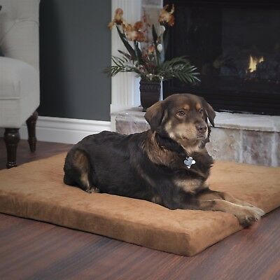 PAW Orthopedic Super Foam Pet Bed - Clay - Large 27 x 36 inches