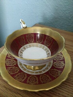 ROYAL STAFFORD BONE CHINA CUP and SAUCER made in England Est 1845 pattern 8671
