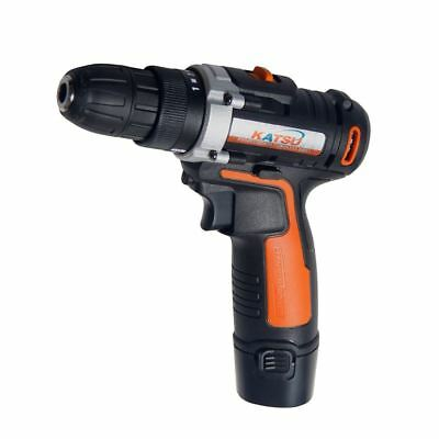 EX RETURN 102334 KATSU 12V Lithium-Ion Cordless Drill Driver Twin Battery