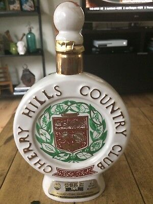 Vintage Cherry Hills Country Club Decanter-1972-Golden Anniversary