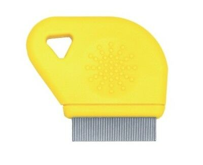 Laube Dog/Cat/Pet FLEA COMB with Thumb Grip - Dog FLEA COMB  CAT FLEA COMB