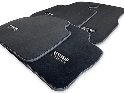 Floor Mats For BMW 1 Series E87 E87LCI With ///M Perf Emblem LHD Clips