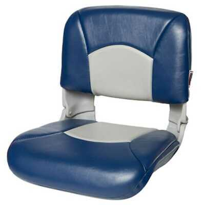 Tempress 45607 All-Weather High-Back Blue/Gray Boat Seat Marine Seating