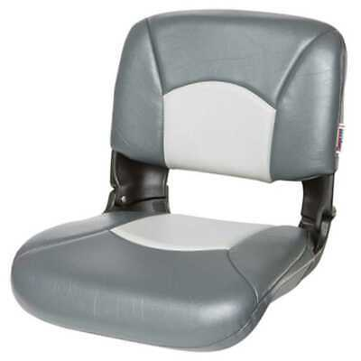 Tempress 45608 All-Weather High-Back Charcoal/Gray Boat Seat Marine Seating