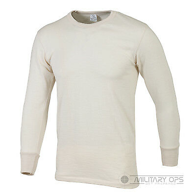 Military Thermal Underwear Army Base Layer Extreme Cold Weather Issue Shirt Top