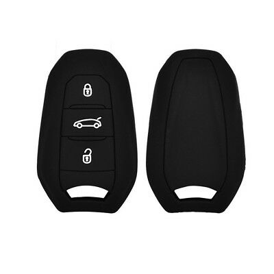 For Peugeot 208 308 508 3008 5008 Key Fob Remote Case Cover Holder Silicone
