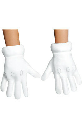 Brand New Super Mario Brothers Child Gloves Accessory
