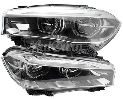 BMW X5 X6 Series F15 F16 Full Led Adaptive Headlight Left And Right Side  Oem New