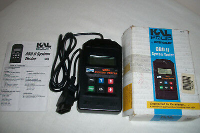 Actron Manufacturing - KAL Equipment - OBD II System Tester - Model 9615