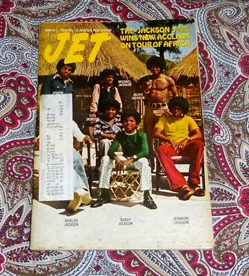 Jet Magazine - March 7, 1974 - Jackson 5 - Michael, Randy - Look!