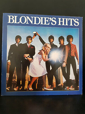 Blondie ‎– Blondie's Hits - Chrysalis 204 195-320 including a large POSTER