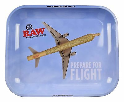 1x  RAW Tray ( Large 11 x 14 ) Prepare For Flight Durable Cigarette Rolling