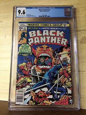 Black Panther #6 (Nov 1977, Marvel) CGC 9.6