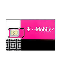T-MOBILE Triple SIM Card MINI + MICRO + NANO • GSM 4GLTE • NEW + PLUS $5 off