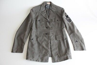 Extremely Rare WWII Palm Beach Suits 30s 40s Linen Military Jacket Normandy 38L
