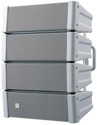 TOA model HX 5W-WP COMPACT LINE ARRAY SPEAKER in WHITE