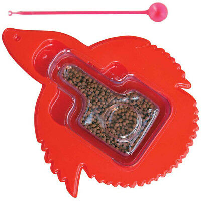 Zoo Med's Micro Floating Betta Pellets NATURAL Fish Food Plus Feeding Wand .12oz