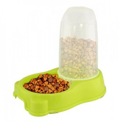 Home Locomotion Lime Green Pet Feeder