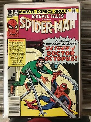 MARVEL TALES #148 NM- CANADIAN PRICE VARIANT Newsstand Amazing Spider-Man Ditko
