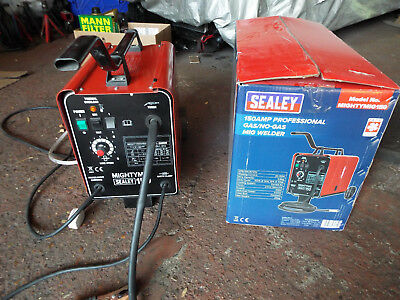 SEALEY 150AMP Gas/Gasless Mig Welder FULL KIT With 2x CO2, 3x wire