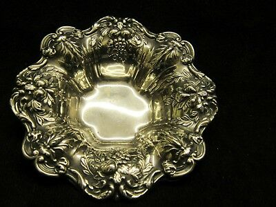 """Vintage Reed & Barton X569 3.5"""" Sterling Francis I Repousse Nut Bowl"""