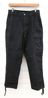 511 5.11 Tactical Series Black Cargo Pants Police Fire Medium 31 1/2-35 Reg