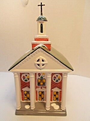 DEPT 56-51195 COLONIAL CHURCH NEW c