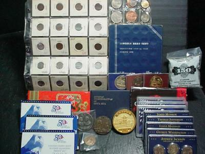 NobleSpirit  NO RESERVE (MGC) Valuable US + WW Coin Collection Intact as Found