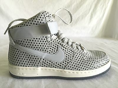 Nike Af-1 Ultra Force Mid Pure Platinum Synthetic Women Size 7.5M Sneakers