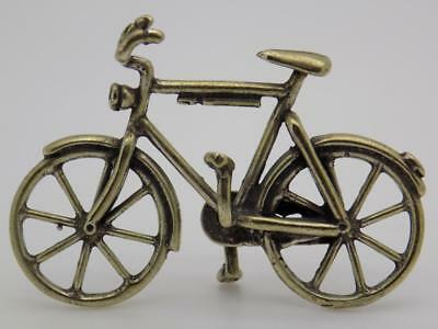 Vintage Solid Silver Italian Made Sport Bicycle Miniature, Figurine, Stamped