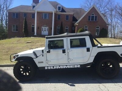 1999 Hummer H1 Convertible Clean low miles Hummer H1 softtop