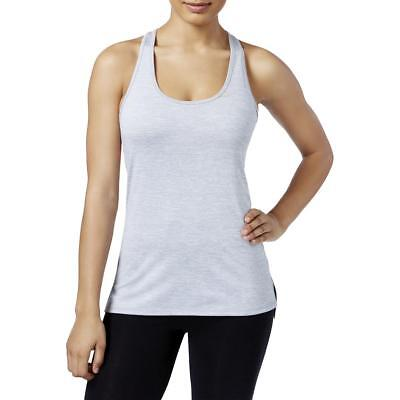 Gaiam Womens Lena Gray Heathered Fitness Active Tank Top Athletic XL BHFO 2105