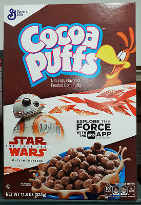 1 x General Mills Cocoa Puffs 334g Cereal - USA
