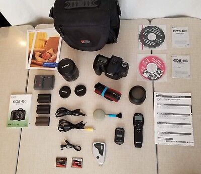 Canon 40D 10.1MP complete set with upgraded lens & many extras