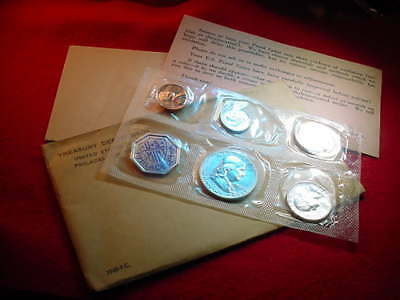 1960 Us Silver Proof Set 90% Silver Coins--No Reserve!  #1125
