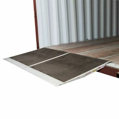 """Aluminum Forklift Shipping Container Ramp 36"""" x 72"""" 10,000lb Capacity"""