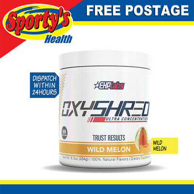 EHP Labs OxyShred 60 Serves Wild Melon - FREE POSTAGE