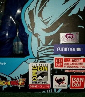 Sdcc 2018 Exclusive Dragon Ball Super Vegito, Figuarts, Bluefin, Comic Con, Goku