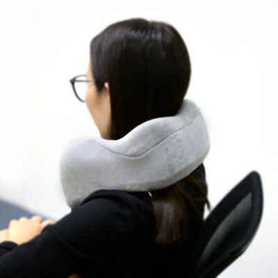 Foldable U-shaped Neck Support Head Pillow Cushion Travel Air Car Plane Sleep US