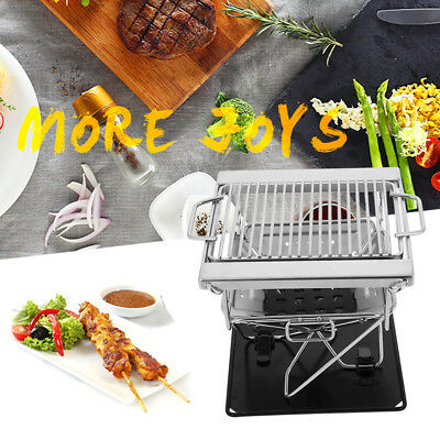 Portable Folding BBQ Barbecue Flat Pack Portable Camping Outdoor Garden Grill^^