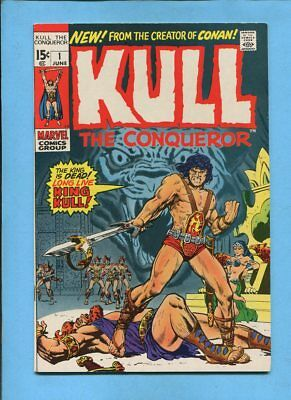 Kull the Conqueror #1 Marvel Comics June 1971 Ross Andru Wally Wood VF
