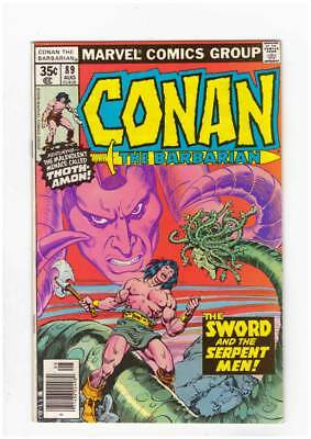 Conan # 89 The Sword and the Serpent ! grade 9.2 scarce book !!
