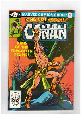 Conan Annual # 6 King of the Forgotten People ! grade 8.5 scarce book !!