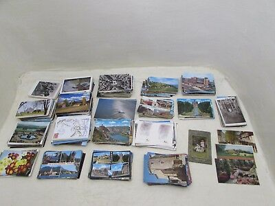 Collection Of 1000 Vintage & Modern Postcards Unused & used With Stamps Lot 3