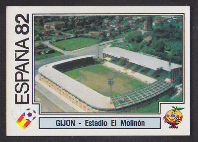 Panini - Espana 82 World Cup - # 23 Gijon - Estadio El Molinon