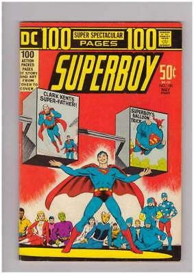 Superboy # 185  100 page Spectacular !  grade 8.0 scarce book !!