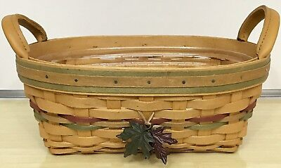 Longaberger Autumn Reflections Small Daily Blessings Basket 2001