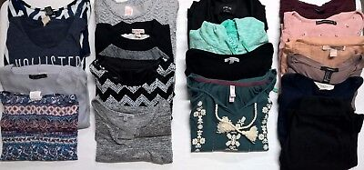 Mixed lot of 18 girls/teen 14-16/AXS,AS fall/winter clothes*Aeropostal,Ab&Fitch